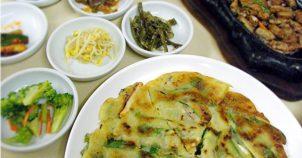 グアムの韓国料理屋<ジンミ>真味でチヂミを食べる! JINMI.