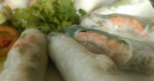 グアムのベトナム料理屋<フォー・タン・スァン>で春巻を食べる! Pho Thanh Xuan.